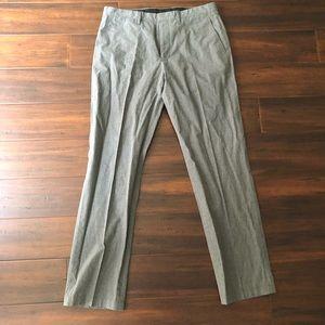Men's J. Crew Bedford Gray Dress Pant 32/32